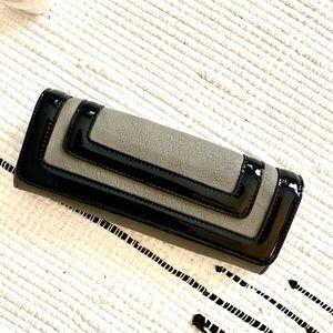Big Buddha Wallet Clutch grey black